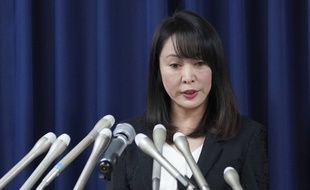 La ministre japonaise de la justice, Masako Mori.