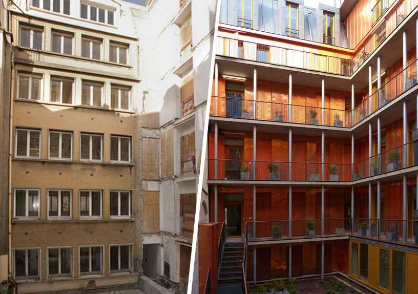 paris il faut faire confiance aux architectes pour convertir les bureaux en logements. Black Bedroom Furniture Sets. Home Design Ideas