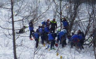 Six militaires ont péri dans cette  avalanche.