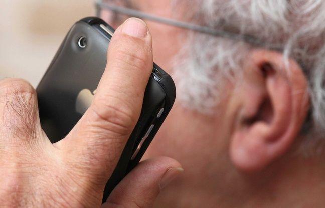 Téléphone portable (illustration).