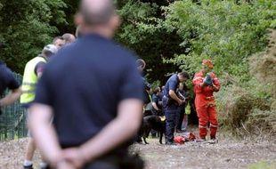 Des policiers ont repris mardi à Eysines, en banlieue de Bordeaux, les recherches pour tenter de retrouver Erane et Andy, âgés de 7 ans, qui ont disparu samedi sans que depuis les enquêteurs n'obtiennent le moindre indice sur ces disparitions inquiétantes.