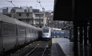 Un TGV a déraillé en gare de Marseille Saint-Charles en août 2018