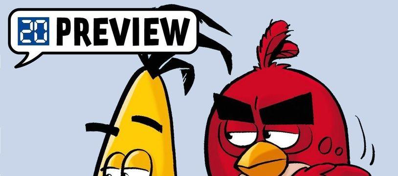 Extrait de la BD Angry Birds