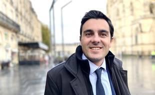 Le député LREM de la cinquième circonscription de la Gironde, Benoit Simian.