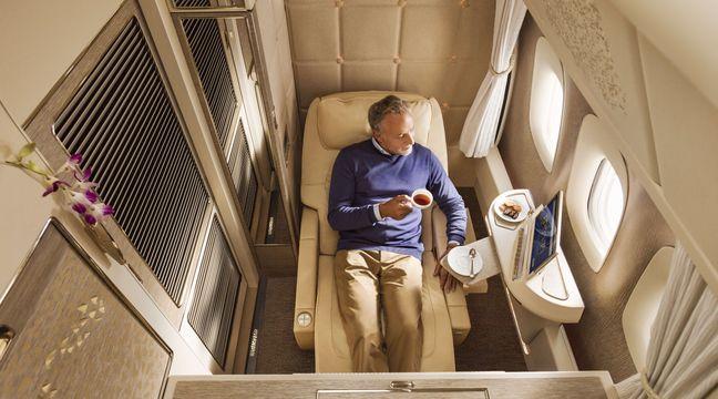Avions : Il existe des places « secrètes » encore plus confortables que la classe affaires