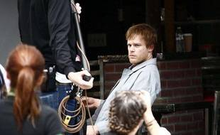 Michael C. Hall sur le tournage de «East Fifth Bliss» à New York 21.04.10