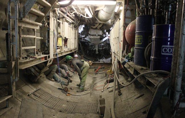 Le tunnelier dénommée Jacqueline (tous les tunneliers sont baptisés d'un prénom féminin) continue d'agrandir le laboratoire Cigéo.