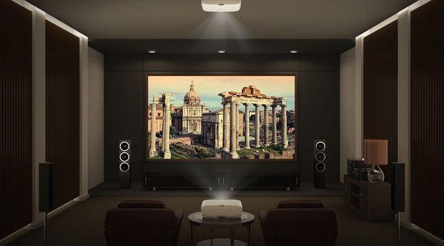 no l 2018 notre s lection de vid oprojecteurs pour des films et jeux au format xxl. Black Bedroom Furniture Sets. Home Design Ideas