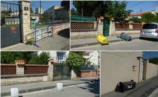 Des bidons, des poubelles renversées, des barrières... On n'arrête pas le progrès.