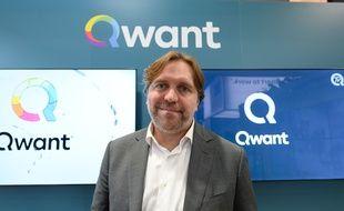 Eric Leandri, le fondateur de Qwant