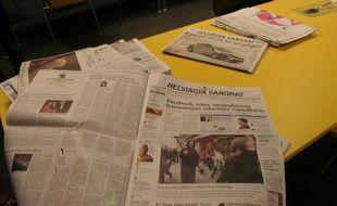 Le Helsingin Sanomat, principal journal en Finlande, a mis en place son propre sélecteur de candidat.