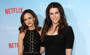 Les deux héroïnes de Gilmore Girls, Alexis Bledel et Lauren Graham