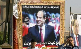Abdel Fattah Al-Sissi a été réélu avec 90% des voix.