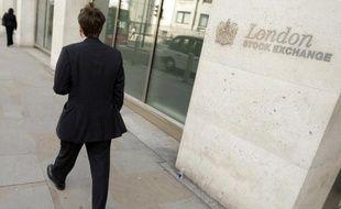 La Bourse de Londres évoluait en hausse après la victoire des conservateurs le 8 mai 2015