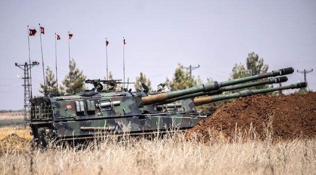 Des chars turcs ont ouvert un nouveau front en dans le nord de la Syrie pour combattre des djihadistes du groupe Etat islamique. – BULENT KILIC / AFP