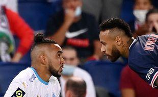 Payet et Neymar lors d'un OM-PSG