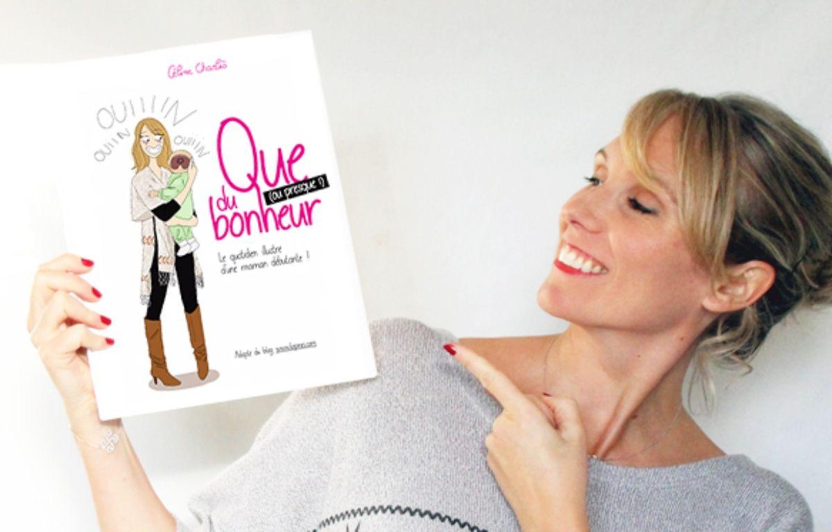 Céline Charlès qui consacre un blog humoristique sur la maternité, vient de publier une bande dessinée numérique. – Céline Charlès