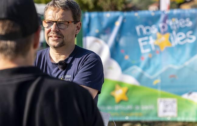 Arnold Bruguière a créé l'association Nos P'tites Etoiles en 2015 avec son épouse Nathalie.