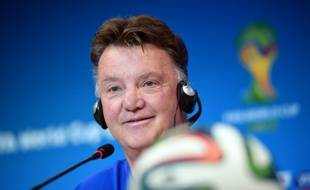 Louis Van Gaal, le sélectionneur des Pays-Bas, le 4 juillet 2014 à Salvador.