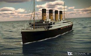 Une compagnie énergétique chinoise construit une réplique du Titanic pour un parc d'attraction