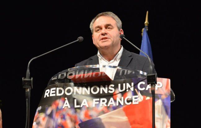 Xavier Bertrand lors du meeting de soutien à François Fillon au Pontet, le 16 février 2017