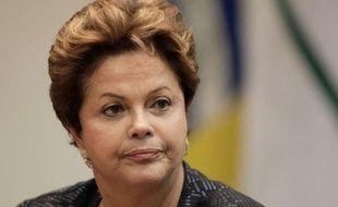 La présidente du Brésil, Dilma Rousseff, le 17 juin 2013.