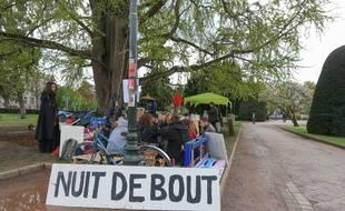 #NuitDebout a quitté la place de la République à Strasbourg. Un homme a été interpellé. (Archives)