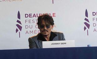 Johnny Depp à sa conférence de presse au Festival du Cinéma Américain de Deauville