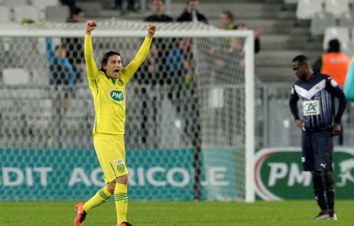 Alejandro Bedoya, l'auteur du but victorieux en 8e de finale à Bordeaux. – NICOLAS TUCAT / AFP