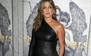 L'actrice Jennifer Aniston à Los Angeles.