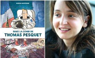 Marion Montaigne est en lice pour la Fauve d'Or avec son album «Dans la combi de Thomas Pesquet».
