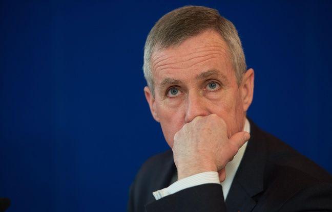 Le Procureur François  Molins, le 27 avril 2015