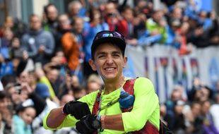 Xavier Thévenard a remporté samedi à Chamonix le troisième UTMB de sa carrière, en 20h44 de course.
