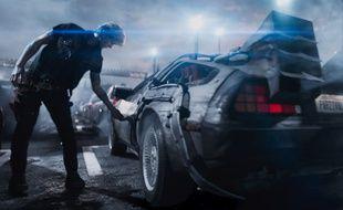 La DeLorean de Retour vers le futur est l'un des véhicules de Ready Player One de Steven Spielberg