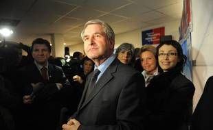 Philippe Richert lors du premier tour des élections régionales de mars 2010. (Archives)