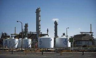 La raffinerie de la ville libyenne de Brega le 26 fébrier 2011