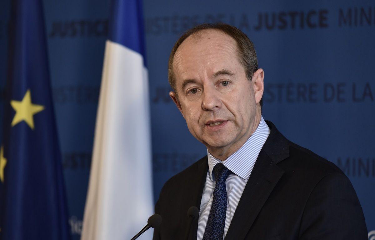 Le ministre de la Justice Jean-Jacques Urvoas – PHILIPPE LOPEZ / AFP