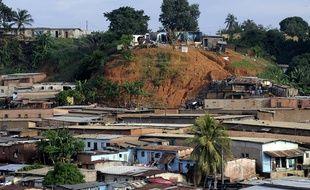 Le quartier défavorisé de Yopougon, dans la banlieue d'Abidjan.