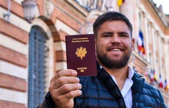 Stade Toulousain: «Vive la France et vive la République!», lance Maks Van Dyk après avoir obtenu son passeport