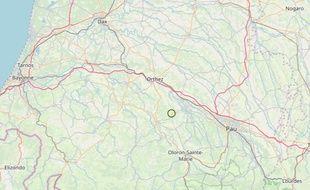 Un séisme de 2,4 a été enregistré près de Pau
