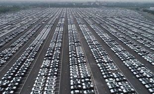 Un parking géant à Changzhou, en Chine.