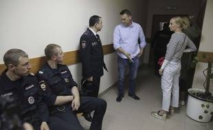 Alexei Navalny le 12 juin 2017 à Moscou.