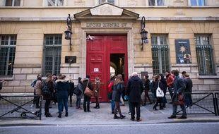 Le lycée Henri-IV après une fausse alerte à la bombe, le 26 janvier.