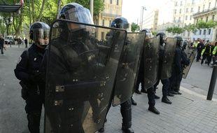 A Marseille, lors de l'acte 24 des gilets jaunes (Photo d'illustration).