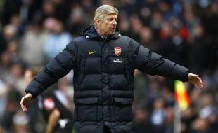 Arsène Wenger après la défaite d'Arsenal contre Manchester City le 22 novembre 2008.