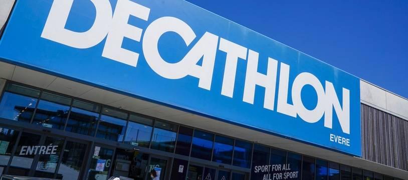 Un magasin Décathlon, ici en Belgique (illustration)
