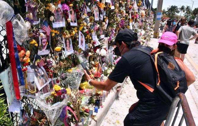 648x415 un memorial le 5 juillet 2021 a surfside pour les victimes de l immeuble effondre dans cette ville