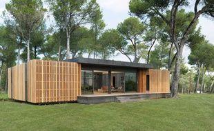 Une maison écologique et économique réalisée par PopUp House.