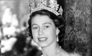 La reine Elisabeth II en 1952