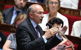 Le ministre de l'Intérieur Gérard Collomb lors d'une séance de questions au gouvernement à l'Assemblée nationale le 19 juillet 2017.
